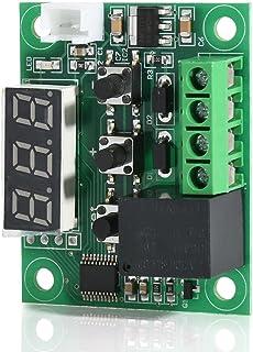 Tykeed W1209 Blue LED Digital Temperature Controller Boa Micro Thermostat Electronic Temp Control 12V DC Sensor Module Swi...