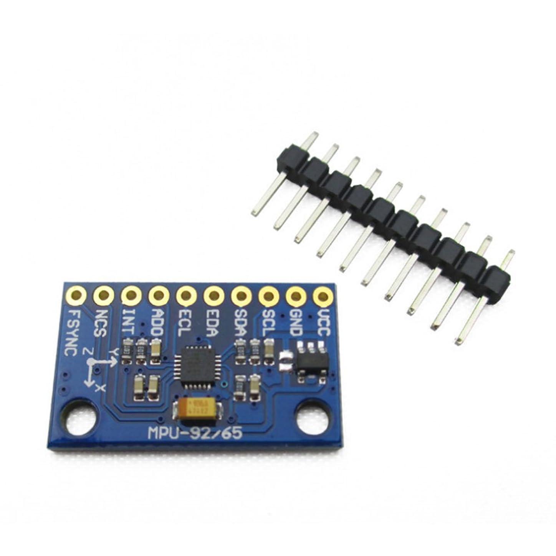 滑り台ルーム展望台Ren He MPU-9250 / 6500 9軸加速度 ジャイロコンパス 磁気センサ TE572 IIC SPI通信 GY-9250