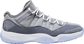 Nike Air Jordan Retro 11 Low Cool Grey Men's Basketball Shoes, 11
