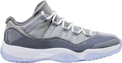 Nike Air Jordan Retro 11 Low Cool Grey Men's Basketball Shoes, 10.5