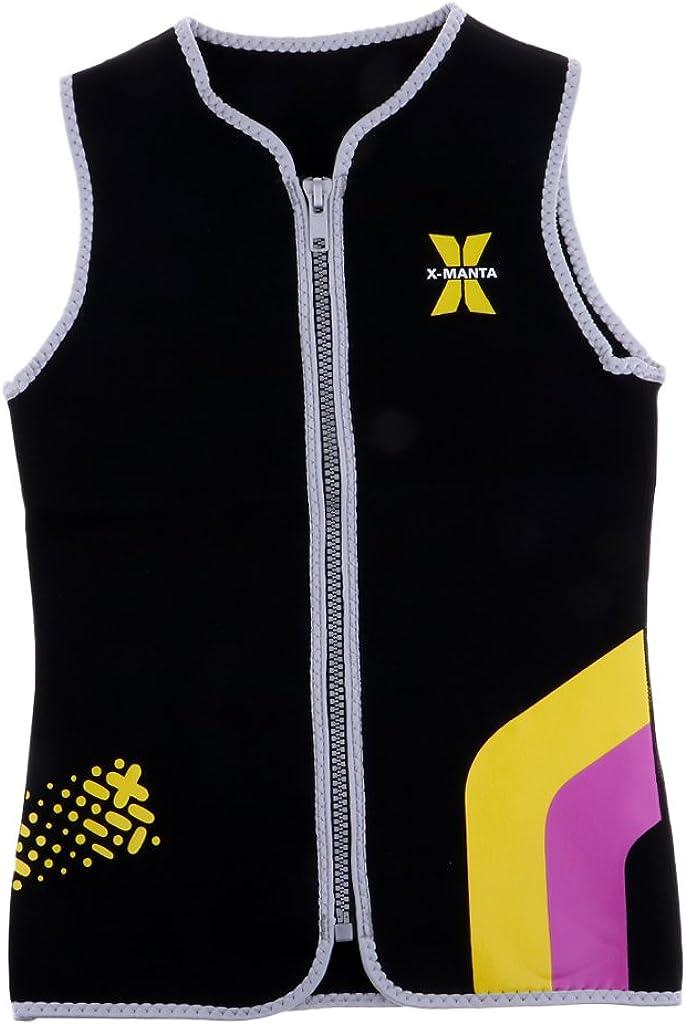 Baoblaze Women's 3MM Neoprene Wetsuit Sports Sur Scuba Max 41% OFF Water Top Max 40% OFF