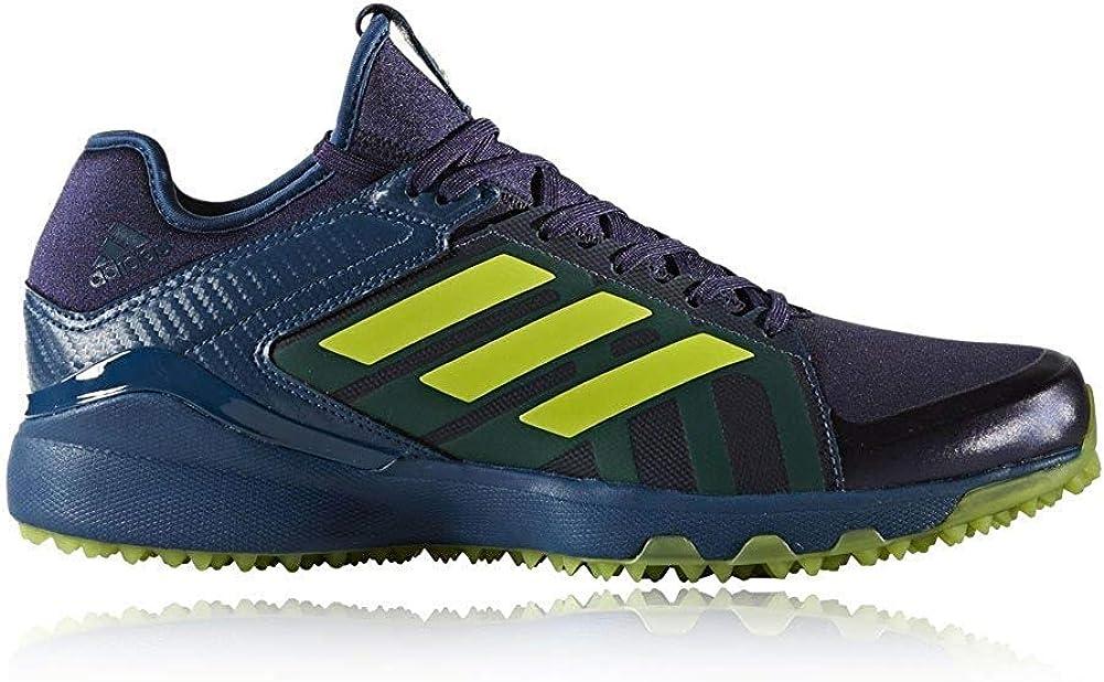 Amazon.com | adidas Lux Hockey Shoes Blue/Yellow | Field Hockey ...