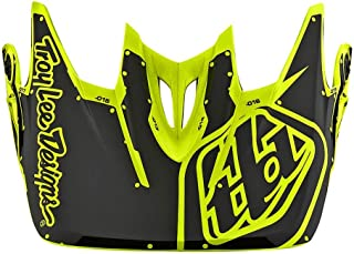 Troy Lee Designs 2018 D3 Fiberlite Factory Replacement Visor Flo Yellow
