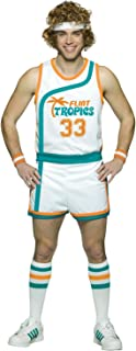 Flint Tropics Semi Pro Jackie Moon Basketball Uniform Costume