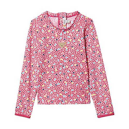 Steiff Mädchen UV Shirt Badeanzug, Rosa (Rasperry Sorbet 7014), 86