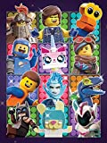 The Lego Movie 2 Lienzo (imprimido, 60x 80cm) (Some Assembly Required)