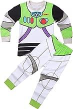 Freebily Boy Girl Toy-Story Buzz Uniform 2 pcs Pajama PJS Set Long Sleeves Tops with Pants Sleepwear Cartoon Clothes Outfit