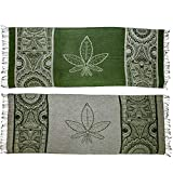 Herb Leaf Pashmina Shawls and Wraps Gifts for Men and Women Scarf Clothes Rave Shirts Accessories Mask Socks Tapestry Smoking Pipe Bags Rolling Tray Olive Green