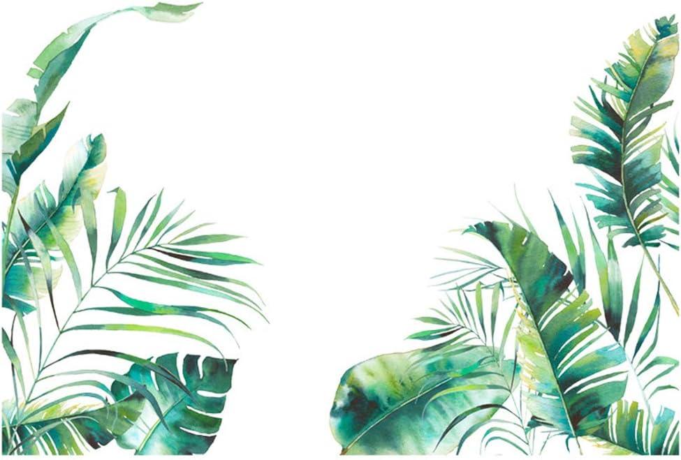 Dearanswer Tropical Green Plant Mu Max 41% OFF Self-Adhesive High quality Wall Wallpaper