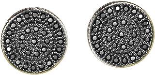 Michooyel CZ أقراط زر الماس للأولاد الأزياء والمجوهرات خالية من الحساسية