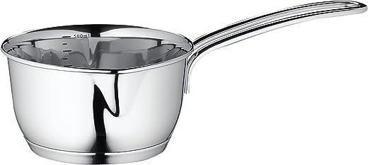 Kuchenprofi Stainless Steel Saucepan with Clad Bottom 16-Ounce Silver