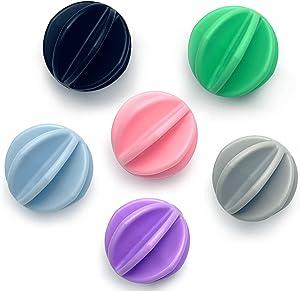 Shaker Balls 6 Pcs Protein Shaker Ball Plastic Blender Ball Replacement Shaker Ball for Shaker,Drinking Bottle Cup