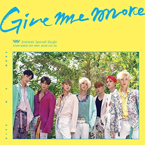 A Team Entertainment VAV - Give ME More (Summer Special Single) CD+76p Photobook+2Photocards