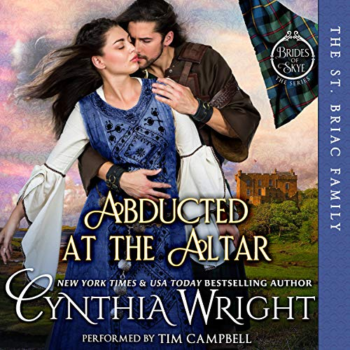 Abducted at the Altar: A St. Briac Family Novel  audiobook cover art