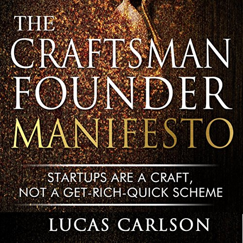 Craftsman Founder Manifesto audiobook cover art