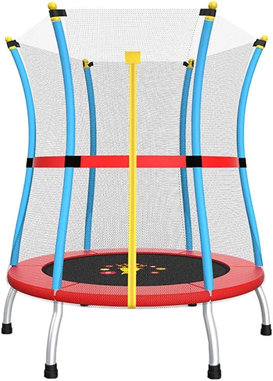 compras online de deportes Trampolines Trampolines Trampolines Kids Fitness Trampoline con Caja de Seguridad, Equipo de Ejercicios de Rebote recreativo para Niños, 55 Pulgadas, 250 kg de Cochega  Ven a elegir tu propio estilo deportivo.