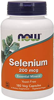 NOW Foods Selenium 200 mcg VCaps, 180 ct