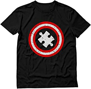 TeeStars - Autism Awareness - Captain Autism T-Shirt