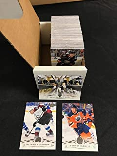 2018-19 Upper Deck Series One Complete Hand Collated Veterans Hockey Set of 200 (No Young Guns) FREE SHIPPING Includes all base cards 1-200. Look for NHL Superstars like Connor McDavid, Nathan MacKinnon and Marc-Andre Fleury. The perfect gift for any hockey collector