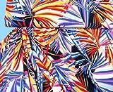 Stoffe hochwertiger Feinjersey Jersey Paradies Palmen