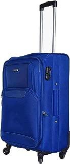 Aristocrat Nylon 34 cms Blue Softsided Check-in Luggage (Amber)