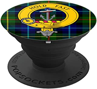Clan Smith Gifts Smith tartan and Family Crest Accessory - PopSockets Grip and Stand for Phones and Tablets