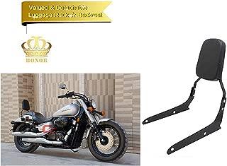 Backrest Sissy Bar Leather Pad For Honda VT750C2 Shadow Spirit 2007-2014 Honda VT750C2B Shadow Phantom 2010-2017