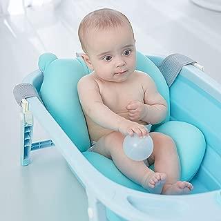 Almohada de baño para bebé FuliMall, diseño flotante, para recién nacido.