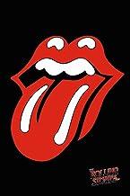 buyartforless The Rolling Stones Tongue 50 Year Anniversary 36x24 Music Art Print Poster Sticky Fingers 1971