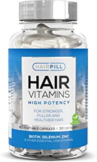 Hair Pill - UK's number 1 Hair Loss Solution, Biotin,