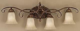Murray Feiss VS10904-ATS Sonoma Valley 4-Light Vanity Fixture, Aged Tortoise Shell