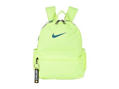Nike Kids Brasilia JDI Mini Backpack (Little Kids/Big Kids) (Volt/Volt/Green Abyss) Backpack Bags