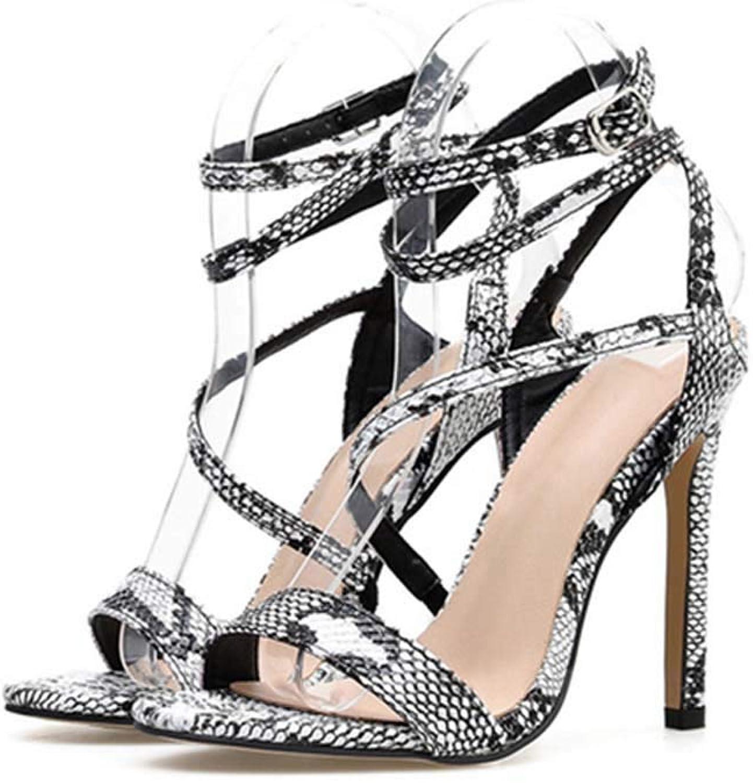 GHFJDO Damen Open Toe Sandalen, Knchelriemen Schuhe, Frühling Sommer Lace Up Block High Heels Stiefelschuhe Hochzeit Schuhe