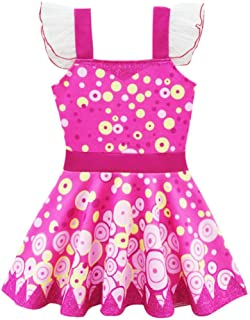 Dressy Daisy Girls Fairy Fancy Dress Costume Birthday Halloween Christmas Fancy Party Outfit 7-8 Hot Pink 274
