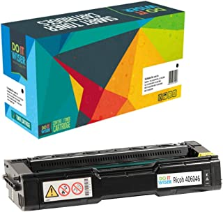 Do it Wiser Compatible Toner Cartridge Replacement for Ricoh Aficio SP C240SF C220S C220A C220DN C220N C221N C221SF C222DN C222SF | 406046 (Black - 2,000 Pages)