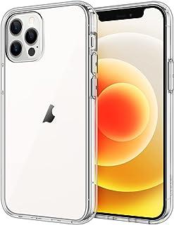 JETech Hoesje voor iPhone 6,1 Inch (12, 12 Pro), Schokbestendige Bumper Case, Anti-Krassen Clear Terug, HD Clear