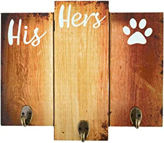 His Hers & The Dog Key & Leash Holder