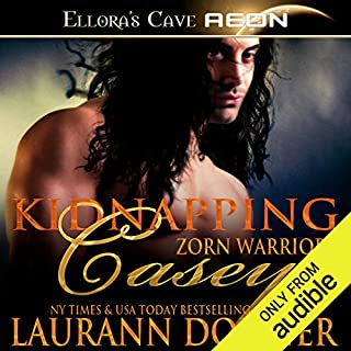 Kidnapping Casey audiobook cover art