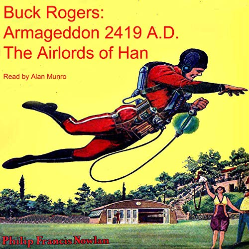 Buck Rogers: Armageddon 2419 A.D., The Airlords of Han cover art