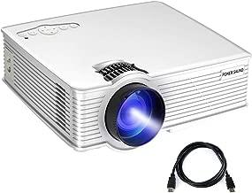 PONER SAUND 2400-Lumens LED Portable Projector