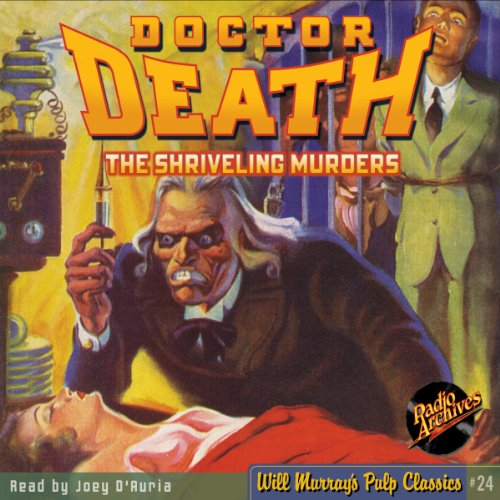 Doctor Death #3 April 1935 audiobook cover art