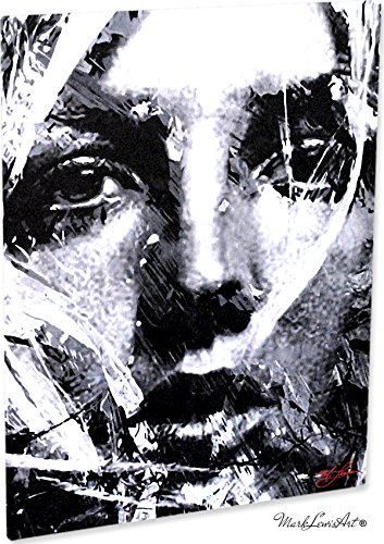 Britney Spears Snow Blind Study 2' Pop Art Giclee Metal Print by Mark Lewis