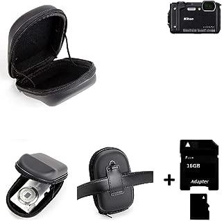 2x brotect protector de pantalla claro Nikon Coolpix s9700 lámina protectora