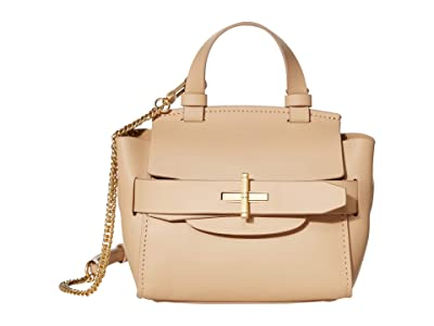 ZAC Zac Posen Brigitte Mini Top-Handle Crossbody Solid (Wheat) Handbags