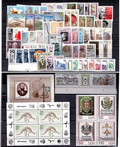 philaseum Briefmarken DDR, kompletter Jahrgang 1990 (inkl. Deutsche Post), Postfrisch (Mi. 58 EUR)