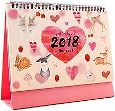 Junio 2017 - Diciembre 2018 Calendarios Office Desktop Calendar [G]