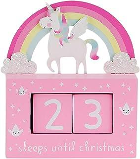 Sass & Belle rosa regnbåge enhörning nedräkning till julkalender - julkalender