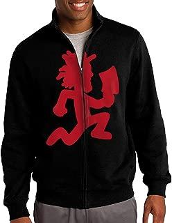 SuperFF Men's Red Hatchetman Logo Hooded Sweatshirt