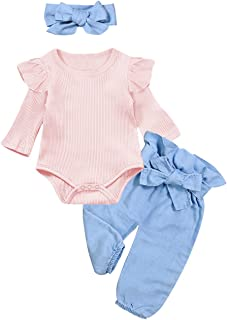 Iuhan/® Baby Girls Off Shoulder Feather Print Tank Top Shorts Outfit Sunsuit Clothes
