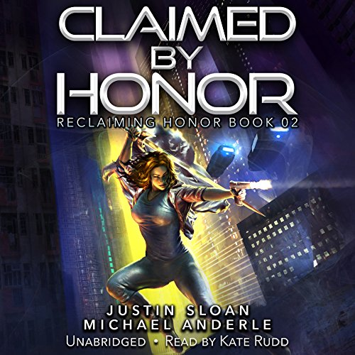 Claimed by Honor audiobook cover art